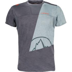 La Sportiva Workout T-shirt Herr slate/stone blue
